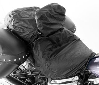 Mustang Motorcycle Seats Rain Cover for Seats with Driver Backrests - Motorcycle Seat Cover
