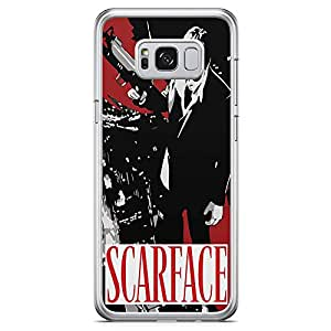 Loud Universe Scarface Movie Samsung S8 Case Movie Poster Scarface Samsung S8 Cover with Transparent Edges