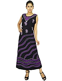Women Casual Long Dress Batik Print Beach Summer Sundress Party Wear Gift For Her