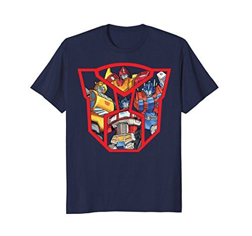 (Transformers Autobots in Logo Shield Graphic)