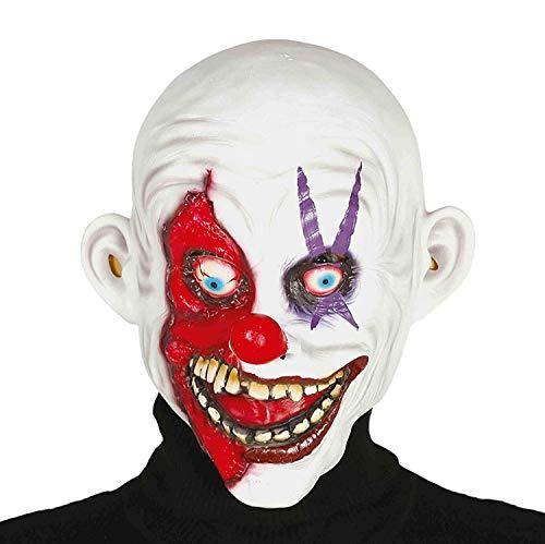 Guirca Mask Smiling Assassin, Latex, Adult Multicoloured, -