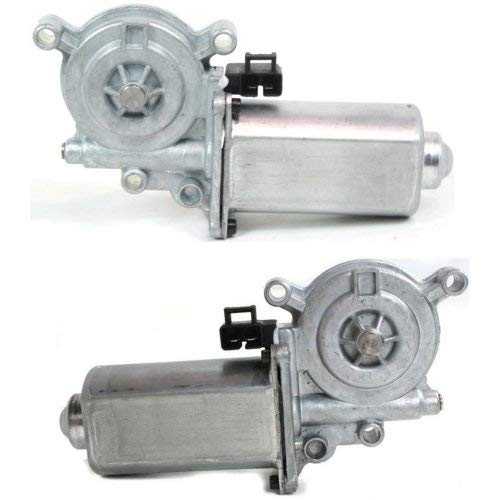Window Motor Set of 2 Compatible with BUICK PARK AVENUE 1991-2005 Front Right Side and Left Side (=Rear Right Side and Left Side) Buick Riviera Window Motor