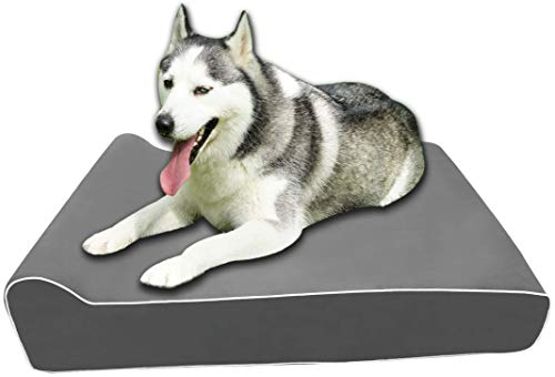 Giant Memory Foam Dog Bed For Large Dogs [52