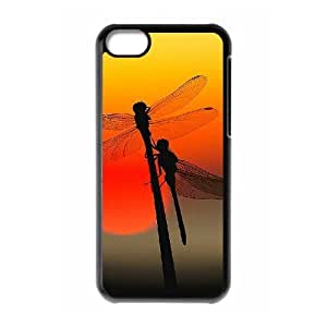 DIY Phone Case for Iphone 5C, Dragonfly Cover Case - HL-R668563