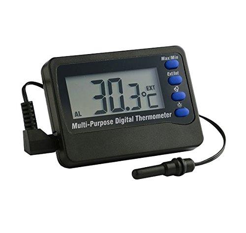Europet Bernina Thermomètre Digital avec Alarme 50 à + 70°C 227-103883