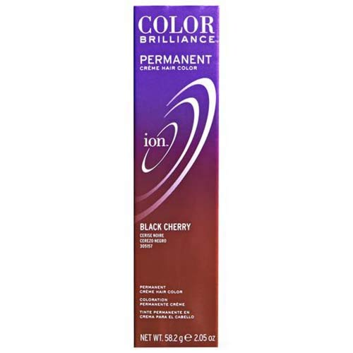 Ion Black Cherry Permanent Creme Hair Color Black Cherry