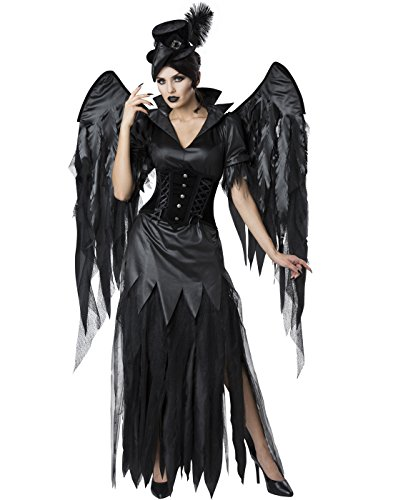 Midnight Raven Adult Costume -