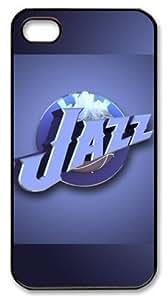NBA Utah Jazz Logo Customizable iphone 4/4s Case by icasepersonalized