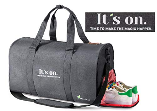 All Soul Great Gym Bag Duffel Gym Bag Black 1 Weekender Duffel Bag with Shoe Compartment   For -