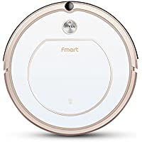 Fmart Smart Robotic Vacuum Cleaner For Home Appliances Dry&Wet Robot Vacuum Cleaner and Mop, Sweeping Mop, Self Charging and High Suction Robot Vacuums for Thin Carpet, Hair Floor ZJ-C1