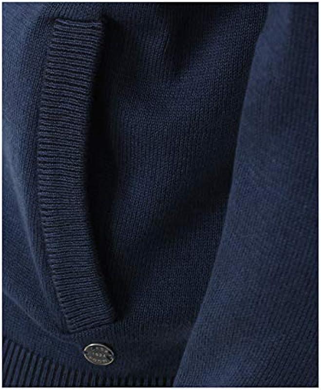 Casamoda męska kurtka z dzianiny, jednokolorowa, dwie wpuszczane kieszenie: Odzież