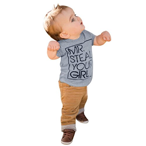 Moonker Baby Tops for 1-5 Years Old,Fashion Kids