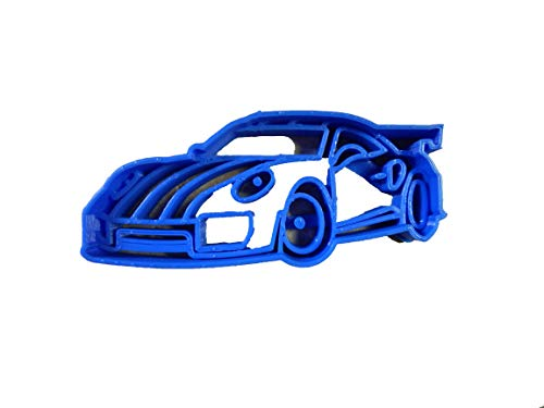 (SPORTS CAR RACE RACING FAST VEHICLE AUTOMOBILE AUTO MUSCLE DRIVING SPORTSCAR COOKIE CUTTER BAKING TOOL USA PR2143)