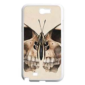 Skull Samsung Galaxy Note 2 Case White Yearinspace998399