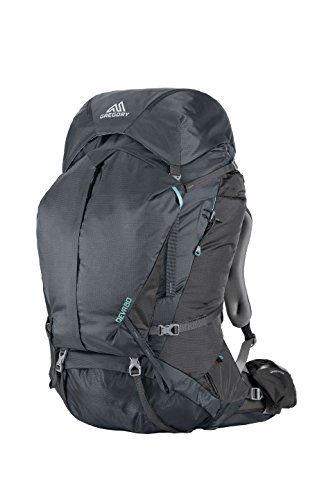Gregory Mountain Products Women s Deva 80 Backpack, Charcoal Gray, X-Small