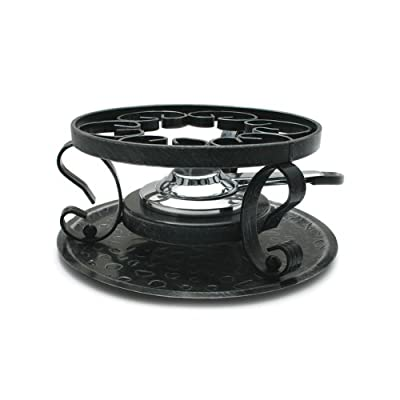 Swissmar Wrought Iron Rechaud with Fondue Burner