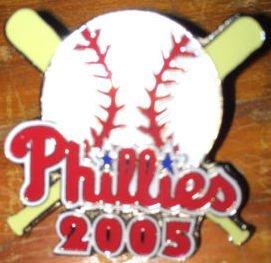 PHILLIES 2005 Hat Lapel Pin MLB 2005 Lapel Pin