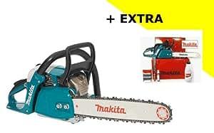 Makita Motor de sierra de cadena EA 4300-38KIT en maletín, 2.2KW (3,0PS) 38cm Espada + 2. Sierra Cadena