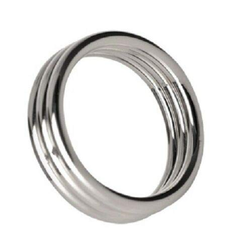 1.75 Inch Stainless Steel Triple Cɔ-Ck Ring