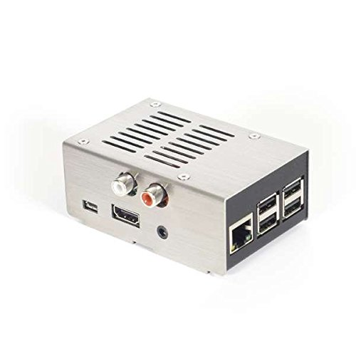 HiFiBerry Steel case for DAC+, brushed cover