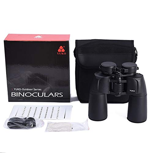 RYRYBH Stylish, Lightweight and Convenient Outdoor YUKO12× 50 High-Definition High-Definition Microscopic Night Vision Binoculars Telescope