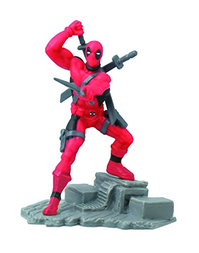 Marvel Series Collectible Diorama Blind Mystery ~ Deadpool PVC Figure (Opened to Identify)