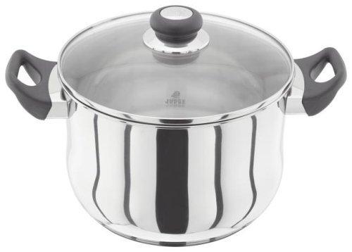 Judge Stockpot, Silver, 24 cm, 5.8 Litre Horwood Homewares JJ45 Cookware Pasta Pots & Stockpots