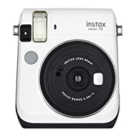 Fujifilm Instax Mini 70 - Cámara de película instantánea (blanco)