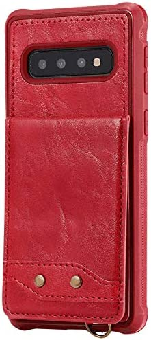 Samsung Galaxy S10 PUレザー ケース, 手帳型 ケース 本革 携帯カバー カバー収納 全面保護 ビジネス 財布 手帳型ケース Samsung Galaxy サムスン ギャラクシー S10 レザーケース