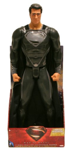 "31"" DC Universe Inch Kryptonian Superman Man of Steel Action Figure, Giant Size"