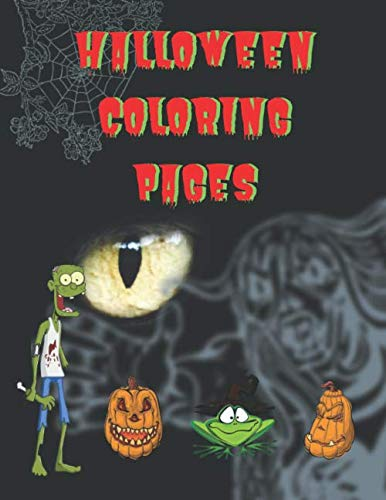 Coloring Pages For Halloween To Print (Halloween Coloring Pages: Halloween Coloring/Drawing Activity Book for children or)