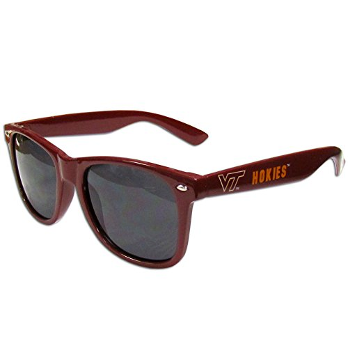 NCAA Virginia Tech Hokies Beachfarer Sunglasses (Virginia Tech Logo Square)