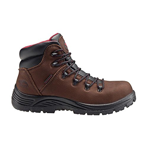 EH Shoe Comp WP Brown SR A7221 Toe Hiker Leather Men's Avenger PR qfvA00