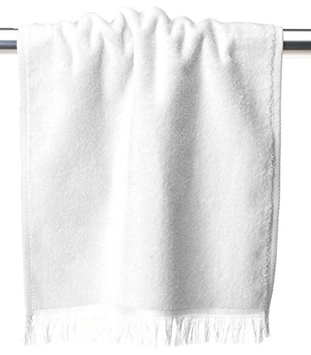 Fringed Fingertip 11x18 Towel - Anvil Oeko TEX 11