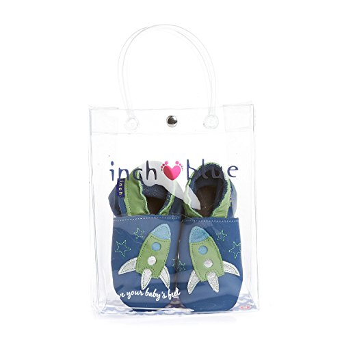 Inch Blue slipper - Patucos para niño multicolor azul marino/turquesa turquesa - turquesa