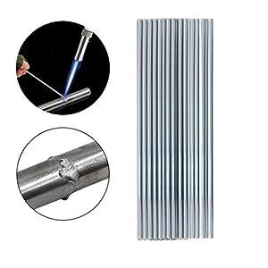 "certainPL Low Temperature Aluminum Welding Rod No Need Solder Powder, 20""(1.6mm)"