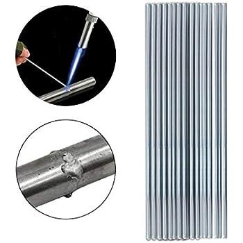 TUU Low Temperature Aluminum Welding Rod, Low Melting Point No Need Solder Powder (50PCS)