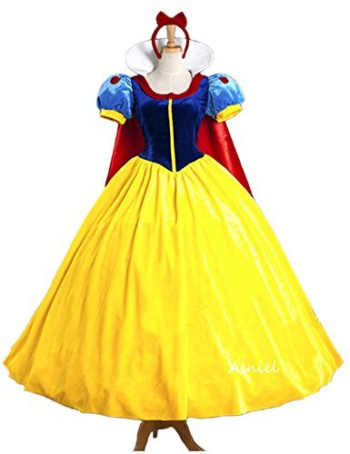 Ainiel Classic Deluxe Costume Dress for Adults Kids(Medium) ()