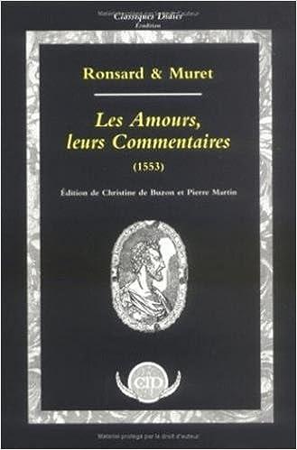 Lire Les Amours, leurs commentaires (inclus cahier musical) pdf ebook