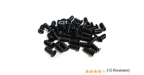 Easycargo - Juego de 50 Tornillos para Ventilador de PC, Tornillos para Ventilador de 80 mm, 92 mm, 120 mm, 140 mm (50 Unidades): Amazon.es: Informática