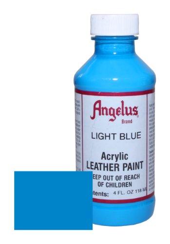 Angelus Acrylic Leather Paint 4oz Light Blue