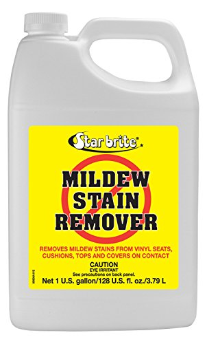 - Star brite Mold & Mildew Stain Remover + Cleaner - Lifts Dirt & Removes Mildew Stains on Contact - Gallon Size
