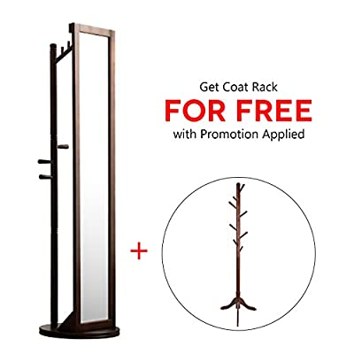 LCH Multifunctional Free Standing Cheval Floor Mirror -  - mirrors-bedroom-decor, bedroom-decor, bedroom - 41o98mLlO6L. SS400  -