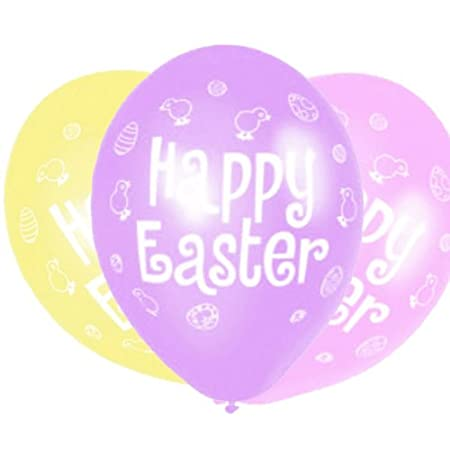 Easter balloons easter party supplies gifts amazon kitchen easter balloons easter party supplies gifts negle Choice Image