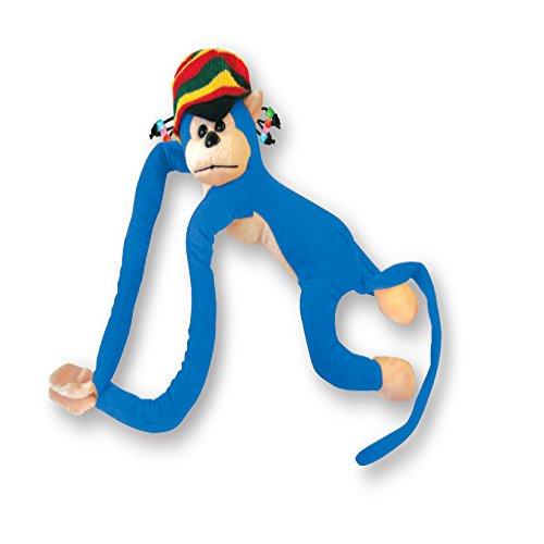 Monkey Rasta Doll (Blue) ()