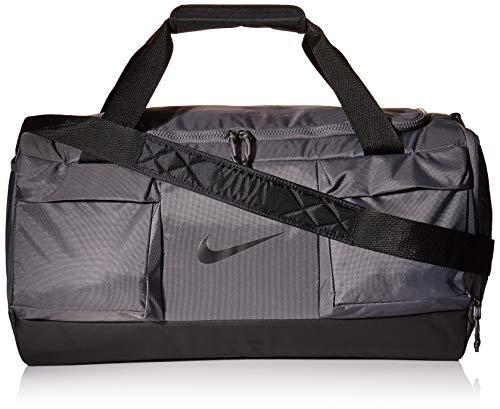 Nike Vapor Medium Duffel, Dark Grey/Black/Black, Misc