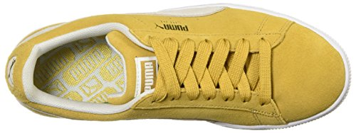Honey Mustard Puma White Frauen Sneaker Fashion Puma qItU1x