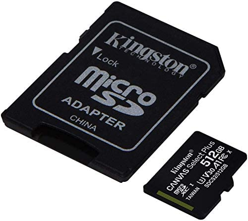 Kingston 512GB ROKU Ultra MicroSDXC Canvas Select Plus Card Verified by means of SanFlash. (100MBs Works with Kingston)