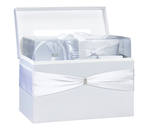 Lillian Rose Complete White Wedding Accessories Kit in a Box