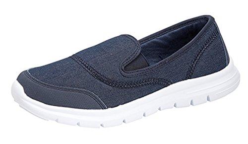 Superlight Damen Freizeit/Walking Schuh Dunkles Jeansblau